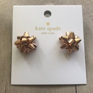Kate Spade Rose Gold Bourgeois Bow.
